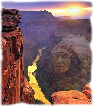 большой каньон в колорадо