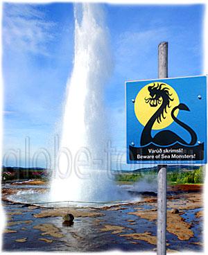 исландия - гейзеры вулканы водопады