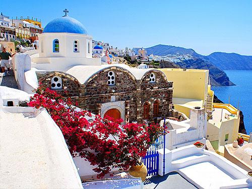 греция - экскурсия на о санторини