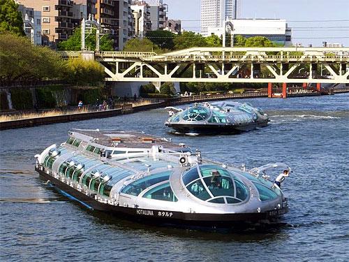 водные круизы в токио