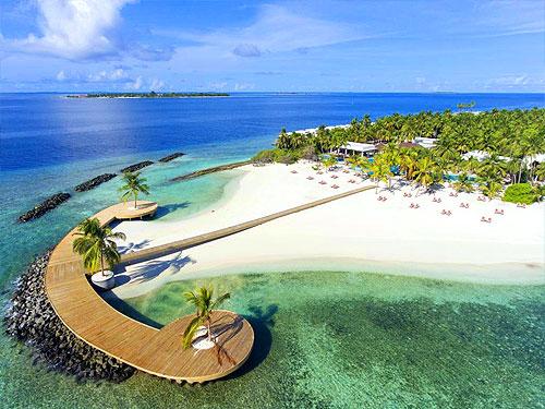 новый островной курорт Dhigali Maldives