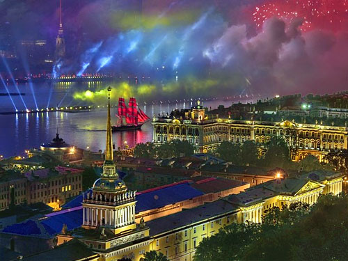 Алые паруса 2017 в СПб