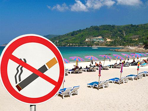 курение на пляжах в таиланде под запретом