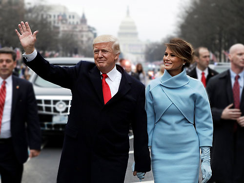 парад в честь нового президента сша трампа